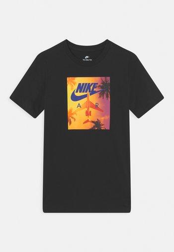 TEE PHOTO SUNRISE - Print T-shirt - black