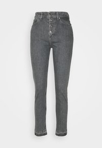 Calvin Klein - HIGH RISE SHANK DETAIL - Slim fit jeans - maceio mid grey - 5