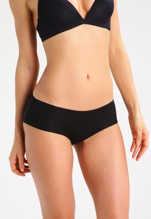 DAMEN PANTY - Pants - black