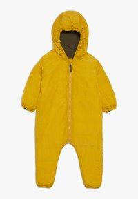 Smitten Organic - SNOW SUIT BABY  - Snowsuit - yellow/khaki - 0