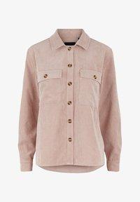 Pieces - Button-down blouse - misty rose - 0