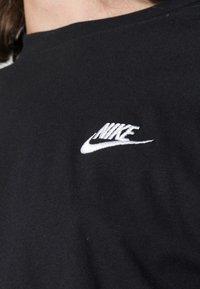 Nike Sportswear - CLUB TEE - T-paita - black/white - 4