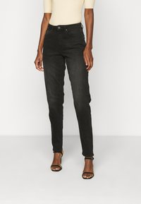 ONLY Tall - ONLVENEDA LIFE MOM - Relaxed fit jeans - black denim - 0
