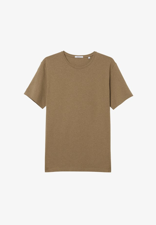 T-shirt basic - tigers eye