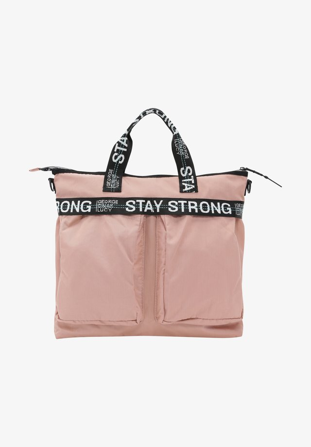 JOHNNY JUNIOR - Baby changing bag - dusty rose strong
