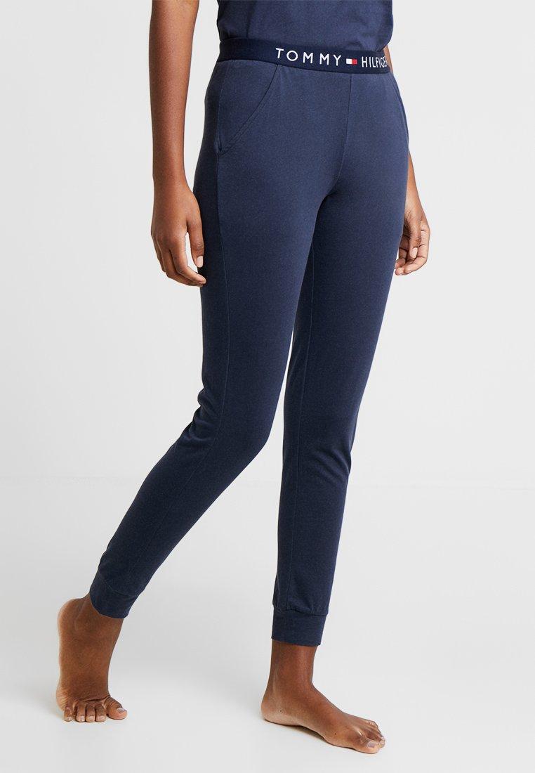 Tommy Hilfiger - ORIGINAL CUFFED PANT - Pyjama bottoms - navy blazer
