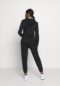Even&Odd Petite - Zip-up hoodie - black - 2