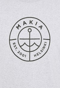 Makia - RE SCOPE - Printtipaita - light grey - 4