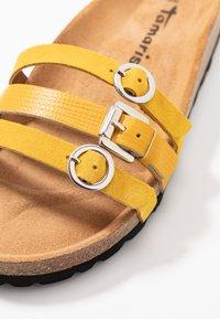 Tamaris - SLIDES - Slippers - saffron - 2