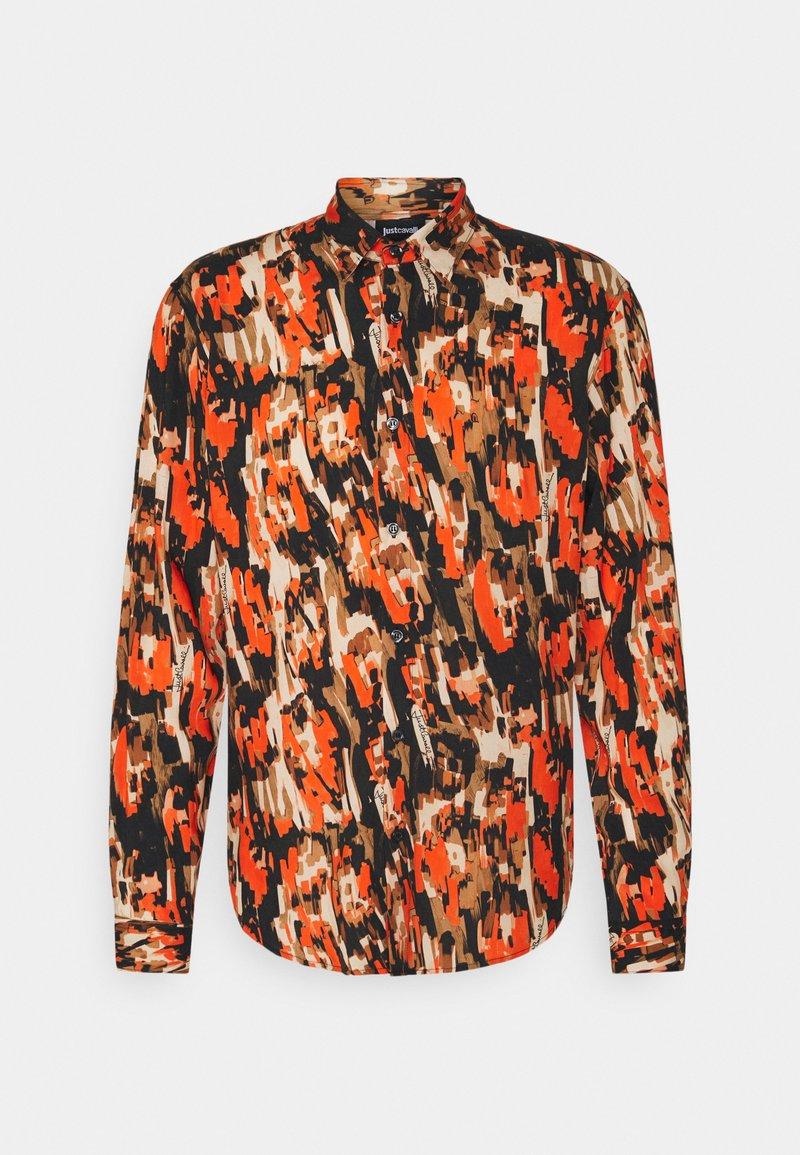 Just Cavalli - SLIM FIT - Camicia - orange variant