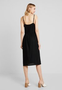 JDY - JDYKITTI MIDI DRESS  - Blousejurk - black - 2
