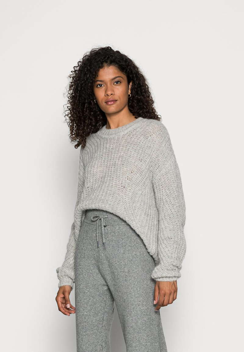Esprit Collection - STRUCTUR - Jumper - grey