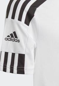 adidas Performance - SQUAD UNISEX - Print T-shirt - white/black - 3