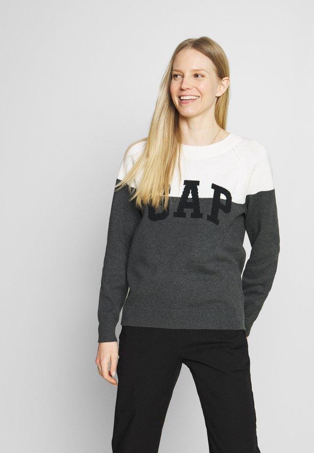 V-GAP ARCH - Sweter - charcoal