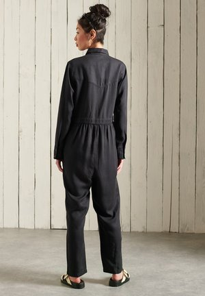 Overall / Jumpsuit /Buksedragter - washed black