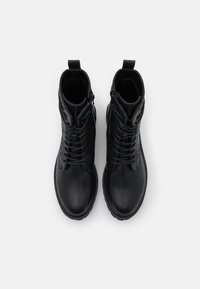 Even&Odd - Lace-up ankle boots - black - 5