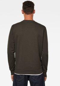 G-Star - LOGO BLOCKED ROUND LONG SLEEVE - Sweater - asfalt - 1