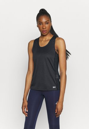 FLY BY TANK - Sports shirt - black