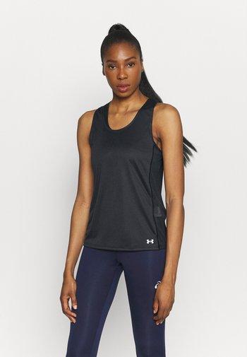 FLY BY TANK - T-shirt de sport - black
