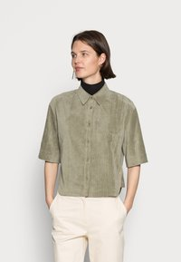 Opus - FORDA  - Button-down blouse - soft moss - 0
