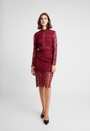 AIRFRATA DRESS - Cocktail dress / Party dress - burgundy