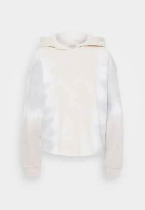 CUTOFF WASH POPOVER  - Hoodie - grisaile sleet/white