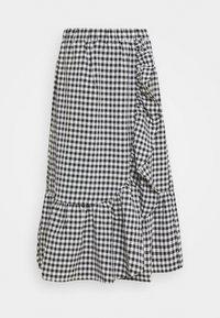 Bruuns Bazaar - SEER JESSIE SKIRT - Áčková sukně - black/white - 4