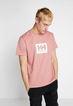 TOKYO - T-shirt med print - ash rose