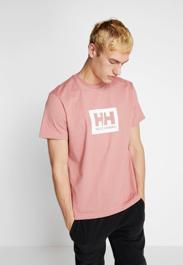 TOKYO - Print T-shirt - ash rose