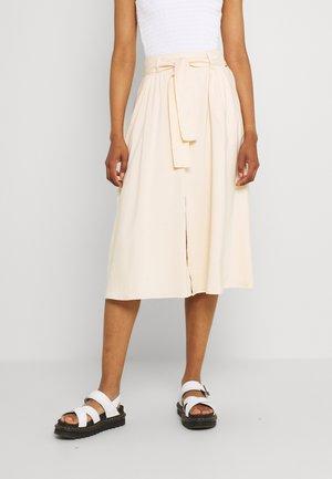 MAYA - A-line skirt - stone