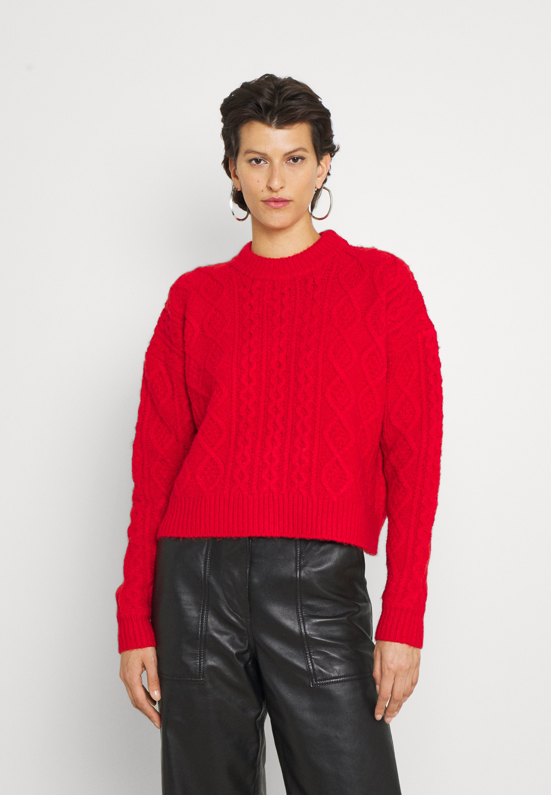 Femme CABBIE CABLE - Pullover
