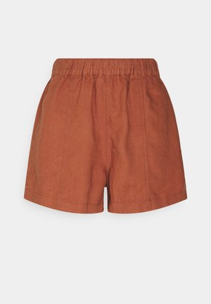 PULL ON W SEAM IN SEASIDE - Short - afterglow red