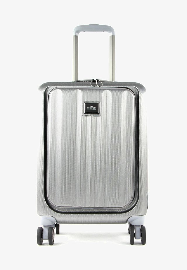 FLY CABIN TROLLEY - Wheeled suitcase - silver brushed