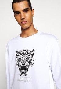 Just Cavalli - FELPA - Sweatshirt - white - 5
