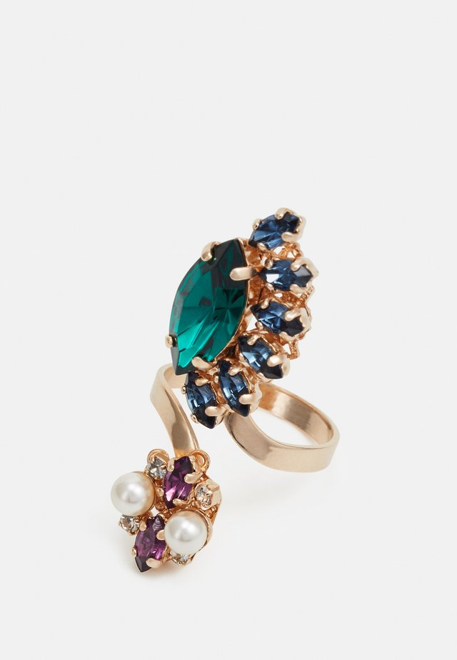 GEMINI CLUSTER RING - Prsten - green/blue