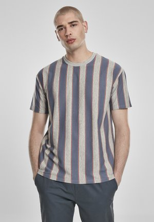 T-shirt imprimé - vintageblue
