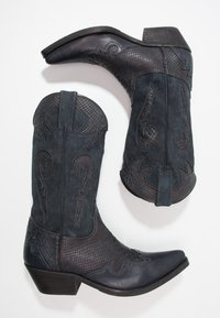 Kentucky's Western - Cowboy/Biker boots - natural/piedra - 1