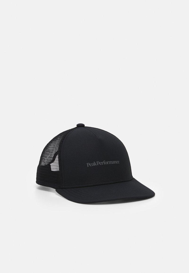 Peak Performance - TRUCKER UNISEX - Cap - black