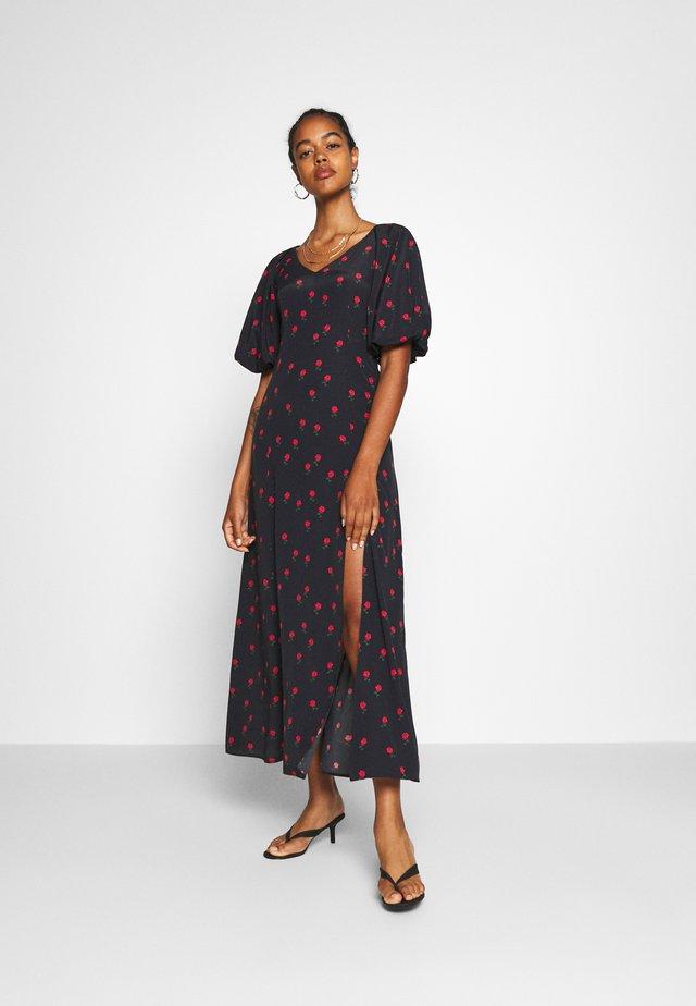VALENTINA DRESS - Maxiklänning - black
