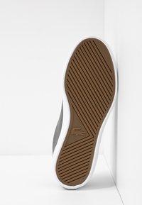Lacoste - LEROND  - Sneaker low - dark grey/white - 6