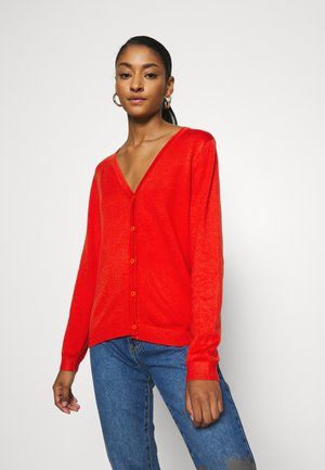 PIMBA VNECK  - Cardigan - spicy red
