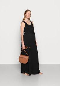 Anna Field MAMA - Maxi dress - black - 1