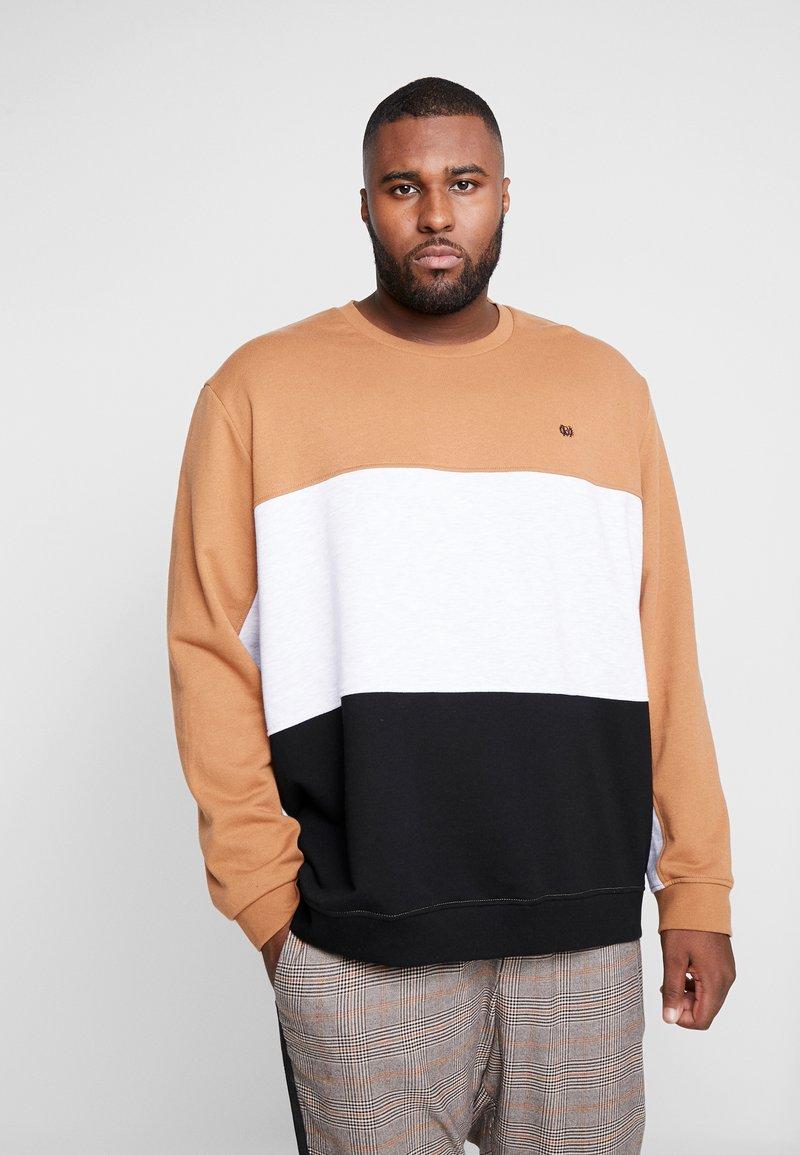 Burton Menswear London - C&S B&T - Bluza - brown