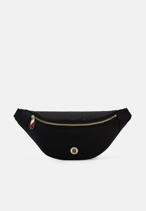 POPPY BUMBAG SOLID - Bum bag - black
