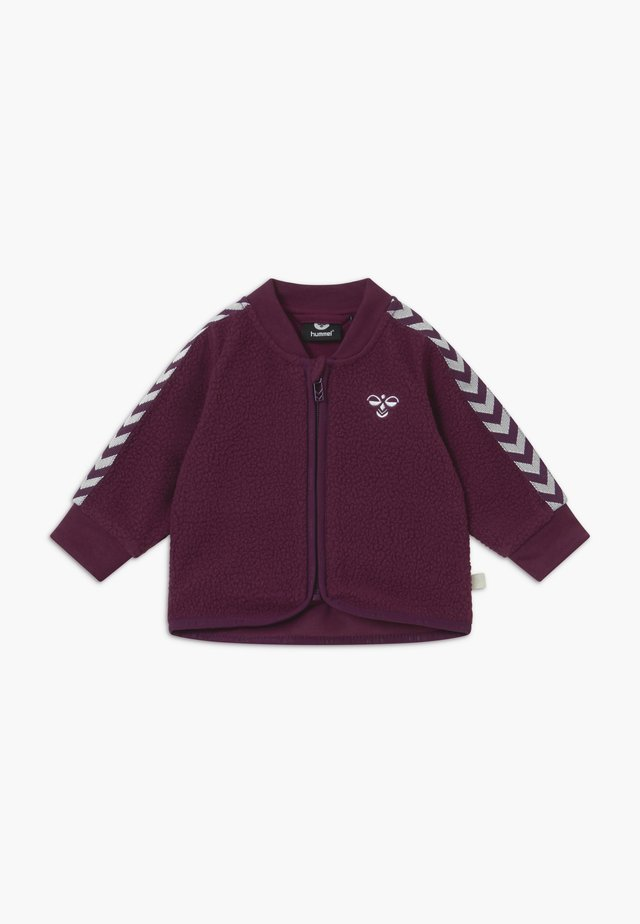 JAMIE ZIP - Veste polaire - blackberry wine
