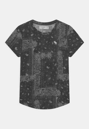 BACK CORE CREW - T-shirt con stampa - black