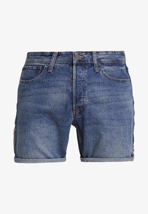 JJICHRIS JJORIGINAL - Denim shorts - blue denim