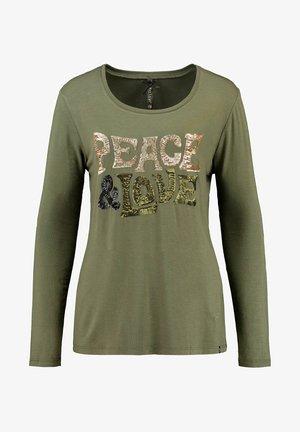 WLS WOODSTOCK  - Long sleeved top - khaki