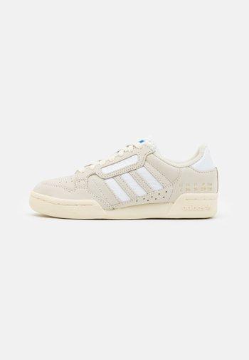 CONTINENTAL 80 STRIPES UNISEX - Matalavartiset tennarit - cream white/footwear white/bluebird