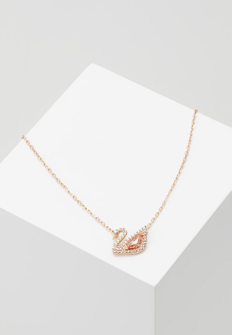 Swarovski - DAZZLING SWAN NECKLACE - Naszyjnik - fancy morganite